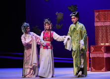 "Cool matchmaker-Kunqu Opera ""the West Chamber"" Royalty Free Stock Image"