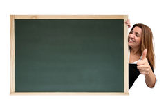 Cool message on chalkboard Royalty Free Stock Image
