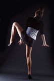 Cool modern dancer Stock Images