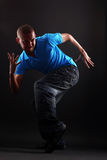 Cool modern dancer in action Royalty Free Stock Photography