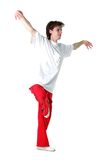 Cool modern man dancer Royalty Free Stock Photography