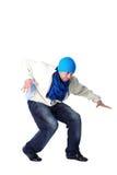 Cool modern man dancer Stock Images