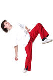 Cool modern man dancer Stock Photography
