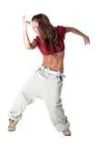 Cool modern woman dancer Stock Image