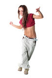 Cool modern woman dancer Stock Photo