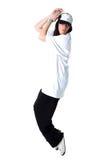 Cool modern woman dancer Stock Photography