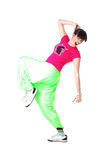 Cool modern woman dancer Stock Images