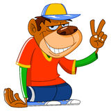 Cool monkey Stock Images