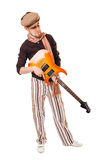 Cool musician Stock Photography