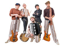 Cool musicians Stock Image