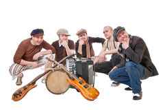 Cool musicians Royalty Free Stock Image