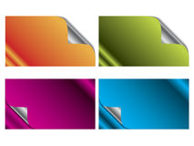 Cool new business card set 7 Royalty Free Stock Photography