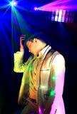Cool nightclub party dj Royalty Free Stock Image