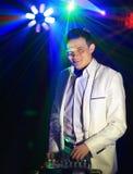 Cool nightclub party dj Royalty Free Stock Photography