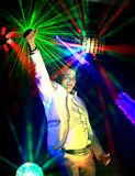 Cool nightclub party dj Royalty Free Stock Photos