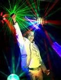 Cool nightclub party dj Royalty Free Stock Photos