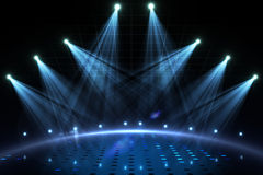 Cool nightlife lights Royalty Free Stock Photos
