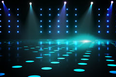 Cool nightlife lights Royalty Free Stock Photo