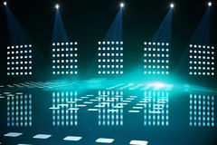Cool nightlife lights Royalty Free Stock Images