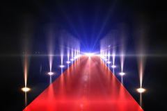 Cool nightlife lights Royalty Free Stock Photography