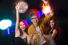 Cool party Royalty Free Stock Photos