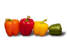Cool peppers Royalty Free Stock Photo
