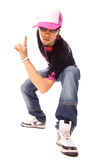 Cool picture of hip hop guy Royalty Free Stock Photo