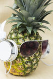 Cool Pineapple Royalty Free Stock Photos