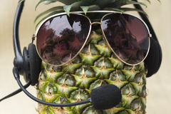 Cool Pineapple Stock Images