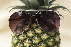 Cool Pineapple Stock Photography