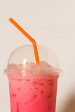 Cool pink milk Royalty Free Stock Images