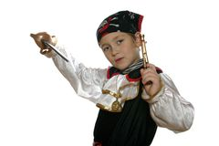 Cool pirate Stock Photography