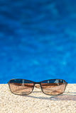 Cool poolside shades Royalty Free Stock Photography