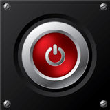 Cool power button design Stock Images