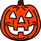 Cool pumpkin Royalty Free Stock Images