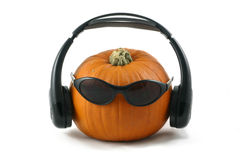 Cool pumpkin Stock Image