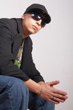 Cool rapper Royalty Free Stock Photo