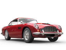 Cool Red Vintage Car - Beauty Studio Shot Stock Photography