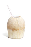 Cool refreshing coconut drink Stock Images