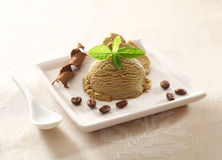 Cool refreshing coffee ice-cream Stock Photography