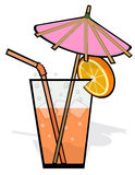 Cool refreshing drink royalty free stock photography