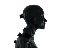 Cool robot in profile Stock Photos