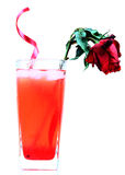 Cool rose drink Royalty Free Stock Photo