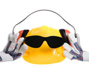 Cool safety gear Stock Photography