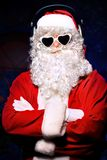 Cool santa Stock Image