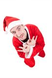 Cool santa claus Royalty Free Stock Images