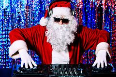 Cool santa claus Stock Images