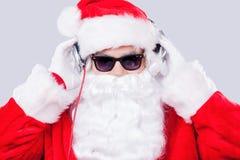 Cool Santa. Royalty Free Stock Image