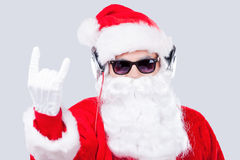 Cool Santa. Royalty Free Stock Photos