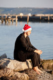Cool santa claus Royalty Free Stock Photos
